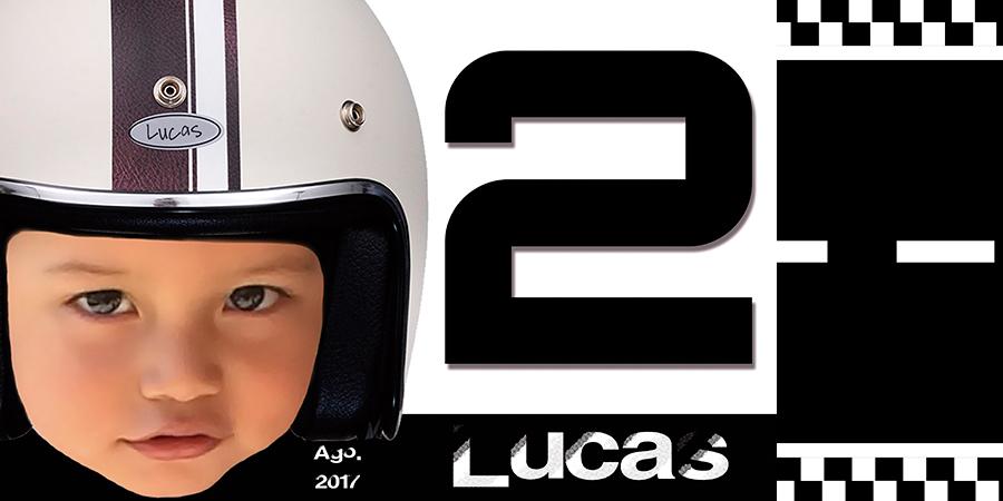 Personalización de Evento: Cumpleaños 2 Lucas <br /> Tema: Carrera de autos